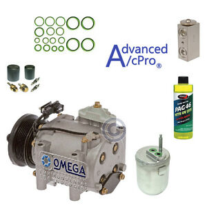 A c Ac Compressor Kit Fits 2002 2003 2004 2005 Ford Thunderbird V8 3 9l Only