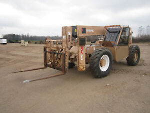 2005 Ingersoll Rand Vr1044c Telehandler With Only 4091 Hours