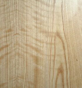 Figured Tiger Flame Red Oak Wood Veneer Sheet 48 X 96 With Paper Backer 1 40