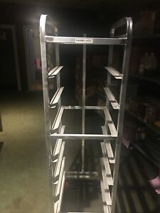 Mobile Bun Pan Rack Bakery Rack