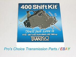 Transgo Sk 400 Shift Correction Kit Fits Turbo Th 400 475 3l80 Hd Transmissions