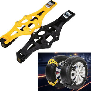 1pcs Easy Car Truck Safety Tire Wheel Anti Skid Snow Chain Ice Chain Universal Fits Chevrolet