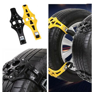 4pcs Anti Slip Off Road Ice Snow Tire Chains Car Wheel Road Safety Accessories Fits Chevrolet