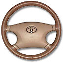 Toyota Leather Steering Wheel Cover Wheelskins Custom Fit You Pick The Color