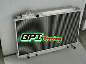 For Toyota Cressida Mark Ii Mx83 7m ge 3 0l 1989 1992 Aluminum Radiator At Mt