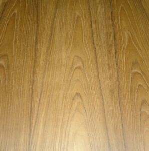 Teak Wood Veneer Sheet 24 X 48 With Paper Backer 1 40th Thickness a Grade