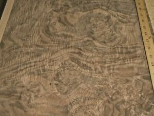 Walnut Burl Wood Veneer 19 X 35 Raw Veneer No Back aaa Quality Grade 1 42