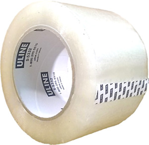 Packing Tape 3 Inch X 110 Yard 2 6 Mil Crystal Clear Heavy Duty Tape By Uline