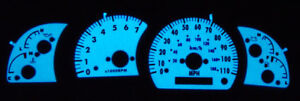 2000 2001 2002 2003 2004 Toyota Tundra Glow Gauges Faces Overlay Sr5 New