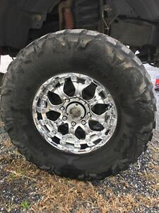 37x13 5 18 Nitto Mud Grappler Tires And Wheels