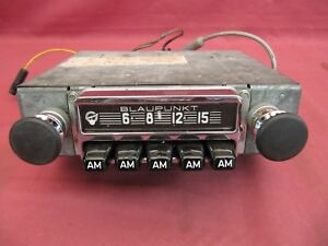 Serviced Blaupunkt Hamburg S Radio Push Button Am Porsche Bmw 1968 1969