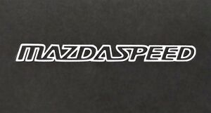 Mazda Speed Vinyl Decal Decal For Laptop Windows Wall Car Boat