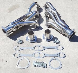 Headers For Chevy buick pontiac Small Block 265 400 V8 Stainless Manifolds
