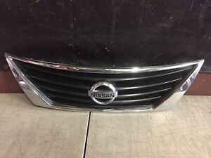 2012 2013 2014 Nissan Versa Grille With Emblem Oem Used