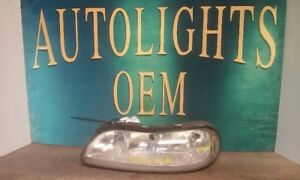 Driver Left Halogen Oem Chevy Malibu 1997 2003 Headlight Lamp Assembly N0821