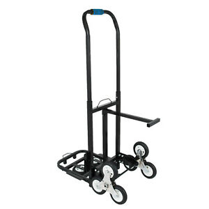 Stair Climbing Cart 420 Lbs Capacity Hand Truck With Backup Wheels Heavy Duty