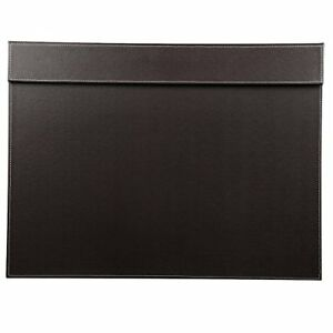 Ultra Smooth Pu Leather Writing Pad Desk Mat With Office A3 A4 File Paper Clip