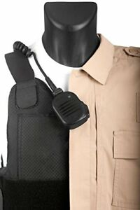 Tactical Mic Leash Keeps Lapel Mic In Place For Police Law Enforcement Radio