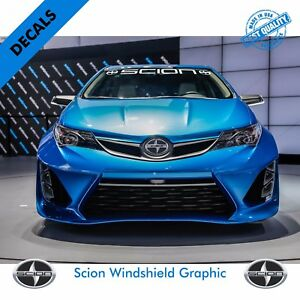 Scion Windshield Vinyl Decal Sticker Vehicle Graphics 38