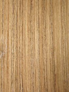 Teak Composite Wood Veneer Sheet 24 X 96 With Paper Backer 1 40th Thickness
