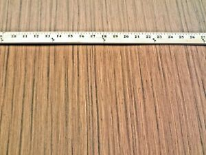 Teak Composite Wood Veneer Sheet 24 X 48 With Paper Backer 1 40th Thickness