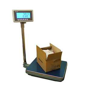 100 Lbs X 0 02 Lb Mbw Ntep Weighing Platform Industrial Shipping Warehouse Scale