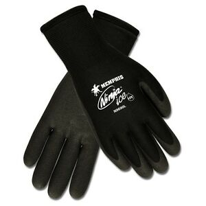 Memphis N9690 Ninja Ice Gloves Insulated Dual Layered Hpt Coating 72 Pair