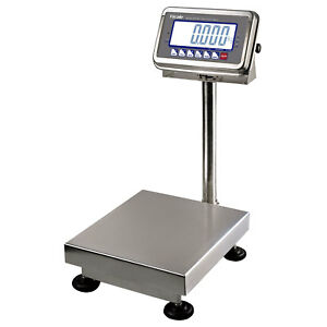 100 Lbs X 0 02 Lb Bws Ntep Weighing Washdown Platform Industrial Shipping Scale