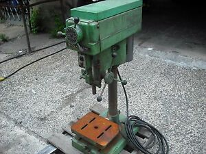 Clausing 1663 Bench Drill Press 3ph Variable Speed