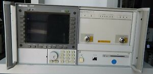 Hp 70842b Error Detector With Hp 70004a Spectrum Analyzer Display Mainframe