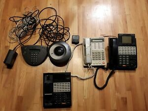 Panasonic Phone System Kx Mitel Conference Phone 5303 Lot Sale