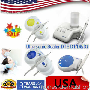 Woodpecker Dte Satelec Dental Ultrasonic Scaler Piezo Handpiece D1 D5 D7 Usa Ups