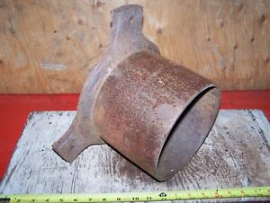 Old Fuller Johnson De N Cast Iron Belt Pulley Hit Miss Gas Engine Steam Oiler