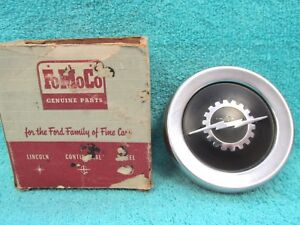 1961 64 Ford Truck Steering Wheel Horn Button With Emblem Nos Ford 1117