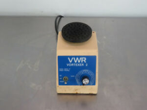 Vwr Vortexer 2 Vortex Mixer With Flat Top With Warranty