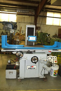 Proth 3 axis Automatic Hydralic Surface Grinder With Electro Magnetic Chuck