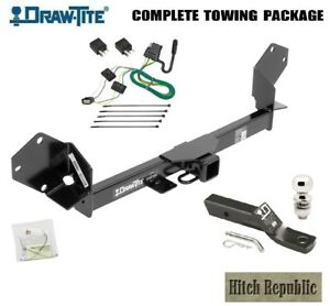 Fits 2016 2018 Buick Envision Class 3 Trailer Hitch Package W 2 Ball