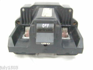Federal Pacific 150a Amp Type 2b Main 2 Pole Circuit Breaker 150