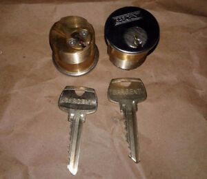 Sargent Mortise Cylinder La Keyway 1 1 8 6 Pin 26d 2 Cylinders W 2 Keys