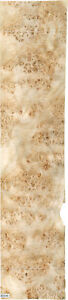 Mappa Burl Wood Veneer 18 X 76 Raw With No Backing 1 42 Thickness aaa Grade