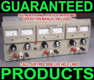 Usa Made Lambda Ultimate Triple Output Dc Power Supply 4 Prototype Breadboard