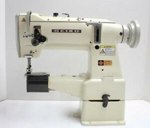 Seiko Lcw 8bl 1 Walking Foot Cylinder Bed Sewing Machine Head Only Made In Japan