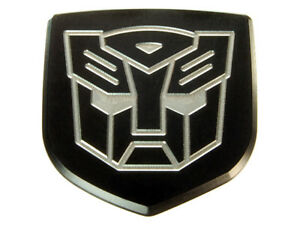 New Dodge Magnum Charger Custom Rear Car Trunk Emblem Badge Black Autobot