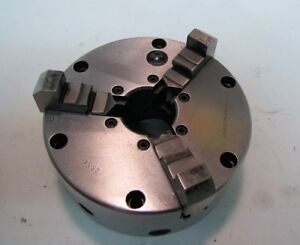Buck Chuck 5 Adjust tru 3 jaw Lathe Chuck Used