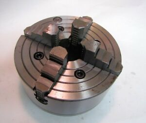 8 4 Jaw Chuck For Lathe Unknown Brand New