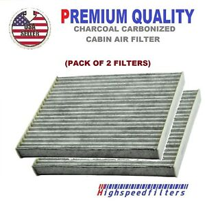Pack Of 2 Charcoal Cabin Air Filter For Captiva Sport Equinox Terrain Vue
