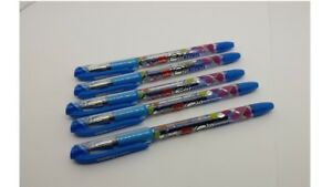 100x Cello Geltech Gel Pen Blue Smooth Writing School Home Office Student