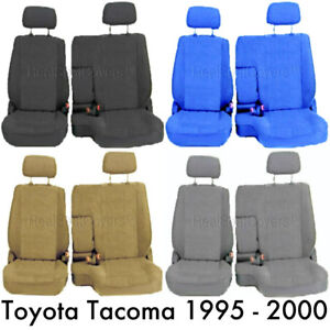 Us Rcab Xcab Front 60 40 Split Front Bench Seat Cover Fit For 1995 2000 Tacoma