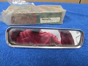 1947 50 Gm Chevy Pontiac Oldsmobile Buick Interior Glare Proof Mirror Nos 315