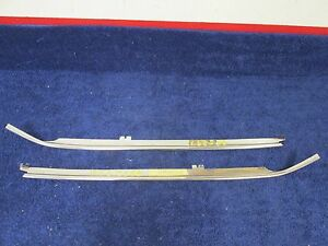 1975 Chevy Chevelle Windshield Pillar Drip Mouldings Nos Gm 516